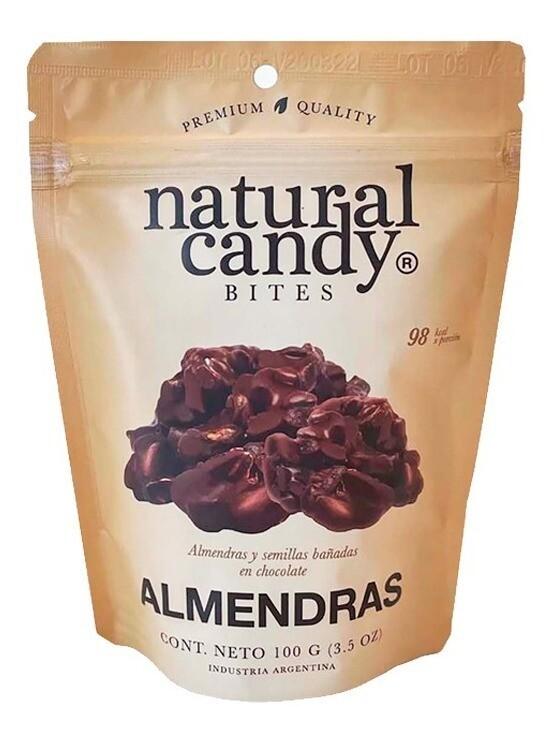 SNACK DE ALMENDRAS, NATURAL CANDY, 100 gr