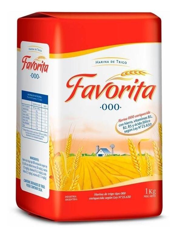HARINA 000, FAVORITA, 1 kg