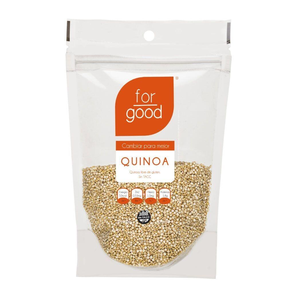 SEMILLAS DE QUINOA, FOR GOOD, 150 gr