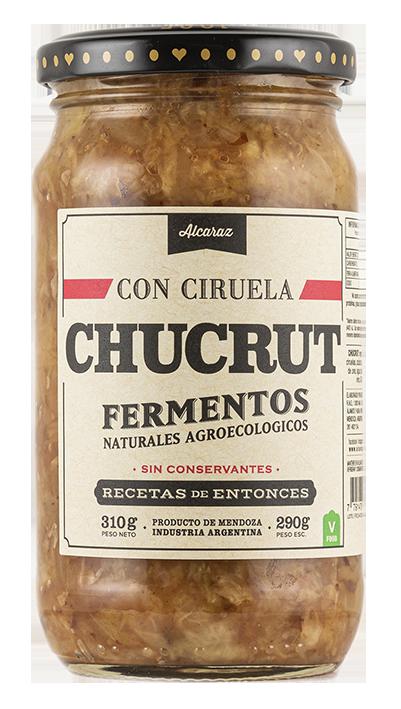 CHUCRUT CON CIRUELAS, ALCARAZ, 290 gr
