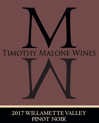 2017 Willamette Valley Pinot Noir
