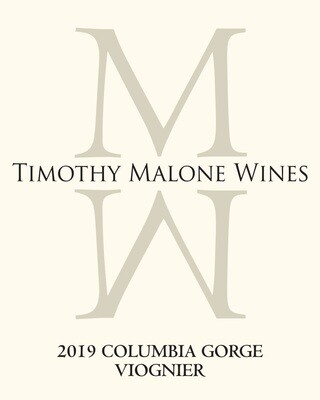 2019 Columbia Gorge Viognier