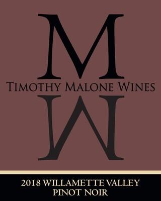 2018 Willamette Valley Pinot Noir