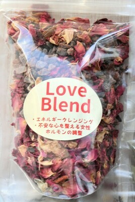 傷ついた心と体を癒すハーブバスソルト(Love Blend)