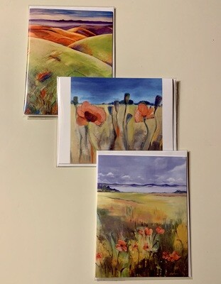 Artisan Note Cards Set of 3