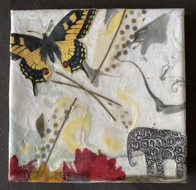 Butterfly & Elephant