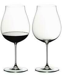 RIEDEL VERITAS NEW WORLD PINOT NOIR WINE GLASS: SET OF TWO