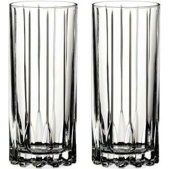 RIEDEL DRINK SPECIFIC GLASSWARE HIGHBALL GLASS: SET OF TWO