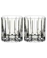 RIEDEL DRINK SPECIFIC GLASSWARE NEAT GLASS: SET OF TWO
