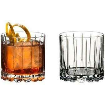 RIEDEL DRINK SPECIFIC GLASSWARE ROCKS GLASS: SET OF TWO