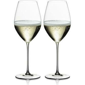 RIEDEL VERITAS CHAMPAGNE WINE GLASS: SET OF TWO