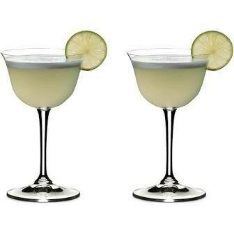 RIEDEL DRINK SPECIFIC GLASSWARE SOUR GLASS: SET OF TWO