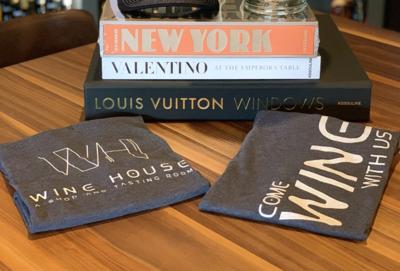 WH Brand V-Neck T-Shirt - Medium