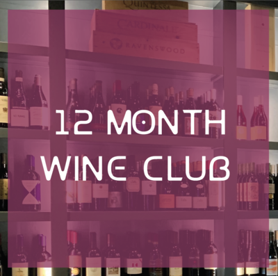 12 Month Wine Club