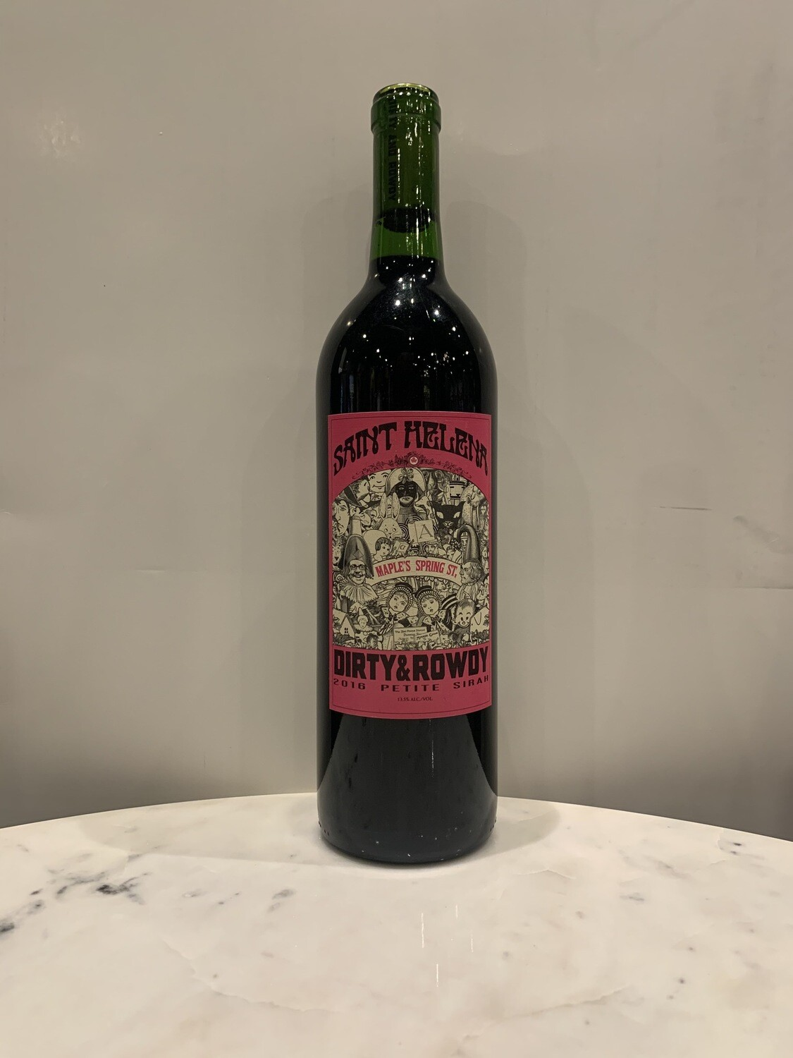 Dirty and Rowdy Maples Spring Street Petite Sirah 2016