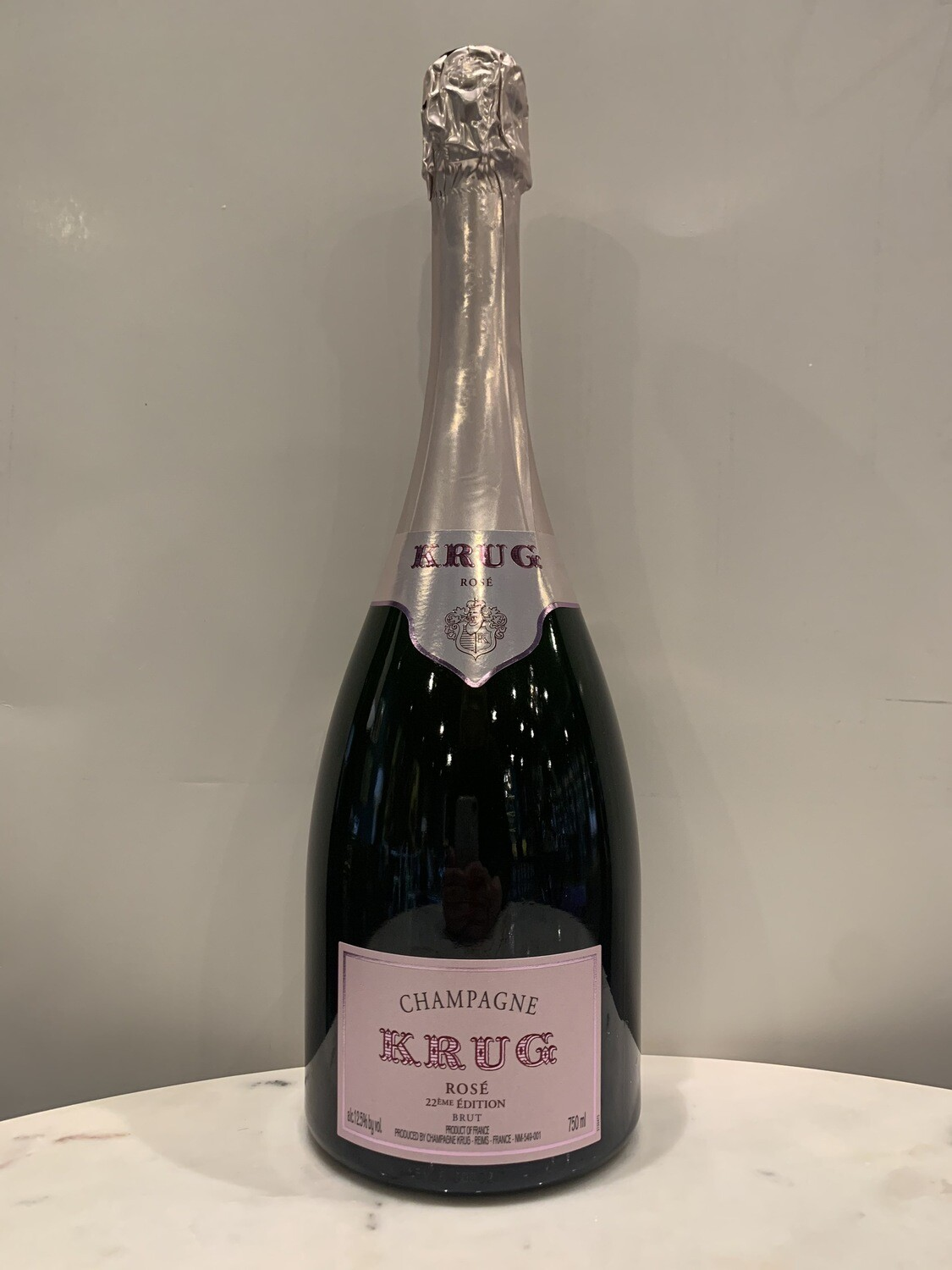 Krug Rose 22nd Edition.