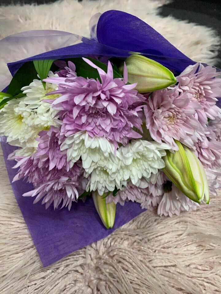 Bouquet of Pastel Blooms