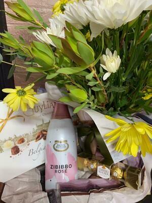 Chocolates, Flowers, Bubbles!
