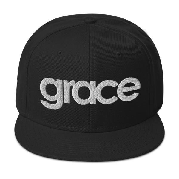 """""""Grace"""" Snapback Hat"""
