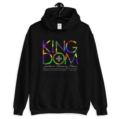 """Kingdom"" Coat of Many Colors - Unisex Hoodie"