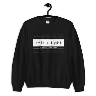 (Salt + Light) Unisex Sweatshirt