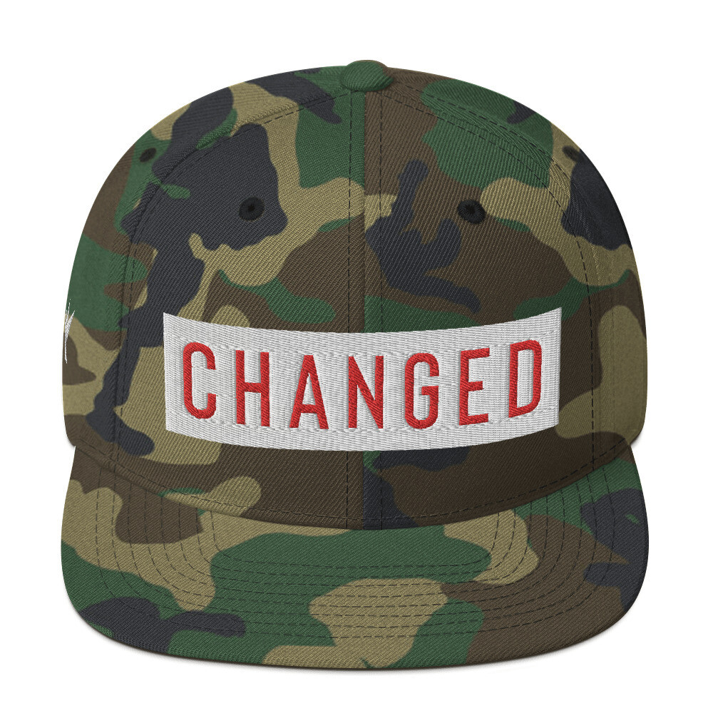 """Changed"" Snapback Hat"