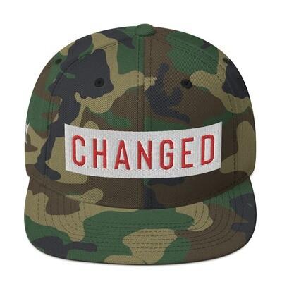 """Changed"" Snapback Hat"