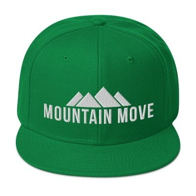 """Mountain Move"" Snapback Hat"