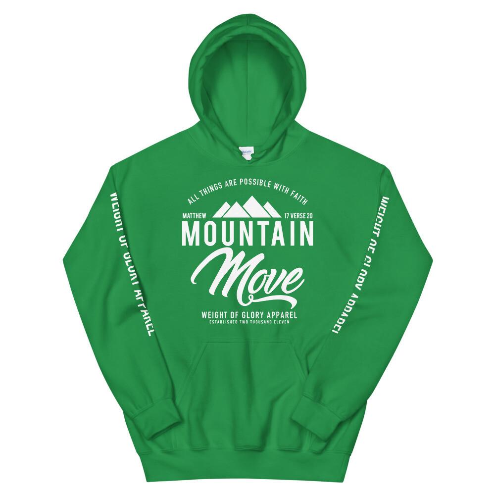 """Mountain Move"" Sleeve Print (Unisex Hoodie)"
