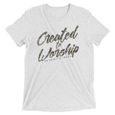 """Created"" Tiger Camo t-shirt"
