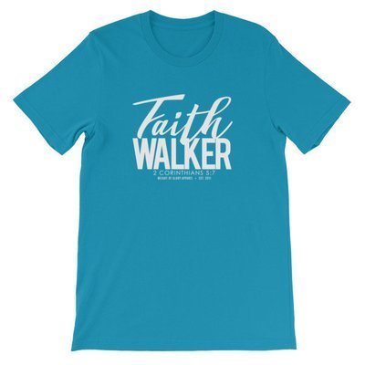 """""""Faith Walker"""" Color Unisex T-Shirt"""