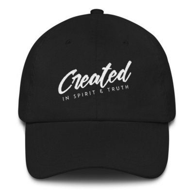 """Created"" Unisex Baseball Cap"