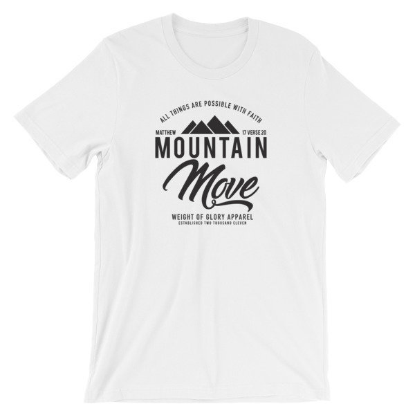 """Mountain Move"" Short-Sleeve Unisex T-Shirt"