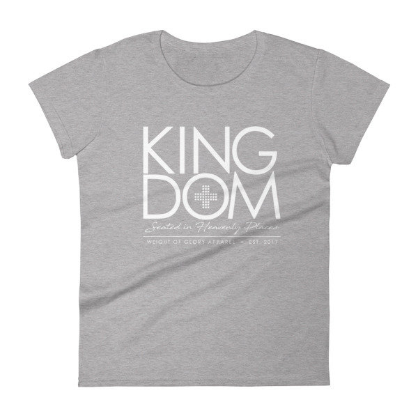 """Kingdom"" Ladies short sleeve t-shirt"