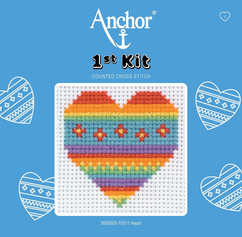Anchor 1st Kit - Heart