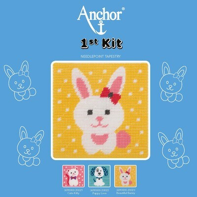 Anchor 1st Kit - Beautiful Bunny Tapestry