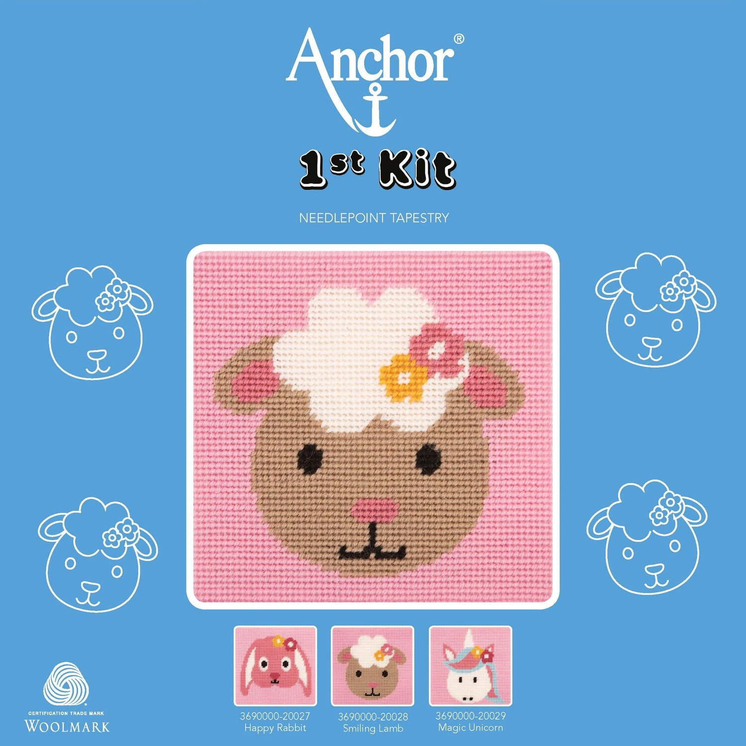 Anchor 1st Kit - Smiling Sheep