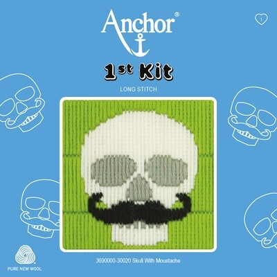 Anchor 1st Kit - Skull with Moustache