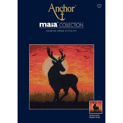 Maia Cross Stitch Kit - Magestic Sunset