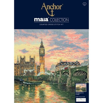 Maia Cross Stitch Kit - London