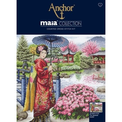 Maia Cross Stitch Kit - The Japanese Garden