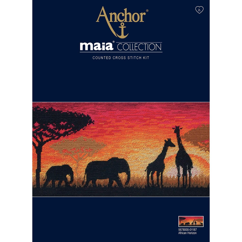Maia Cross Stitch Kit - African Horizon