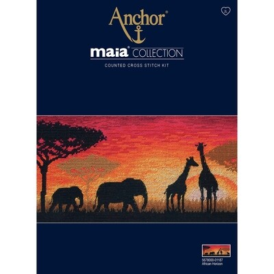 Maia Cross Stitch Kit - African Horizon