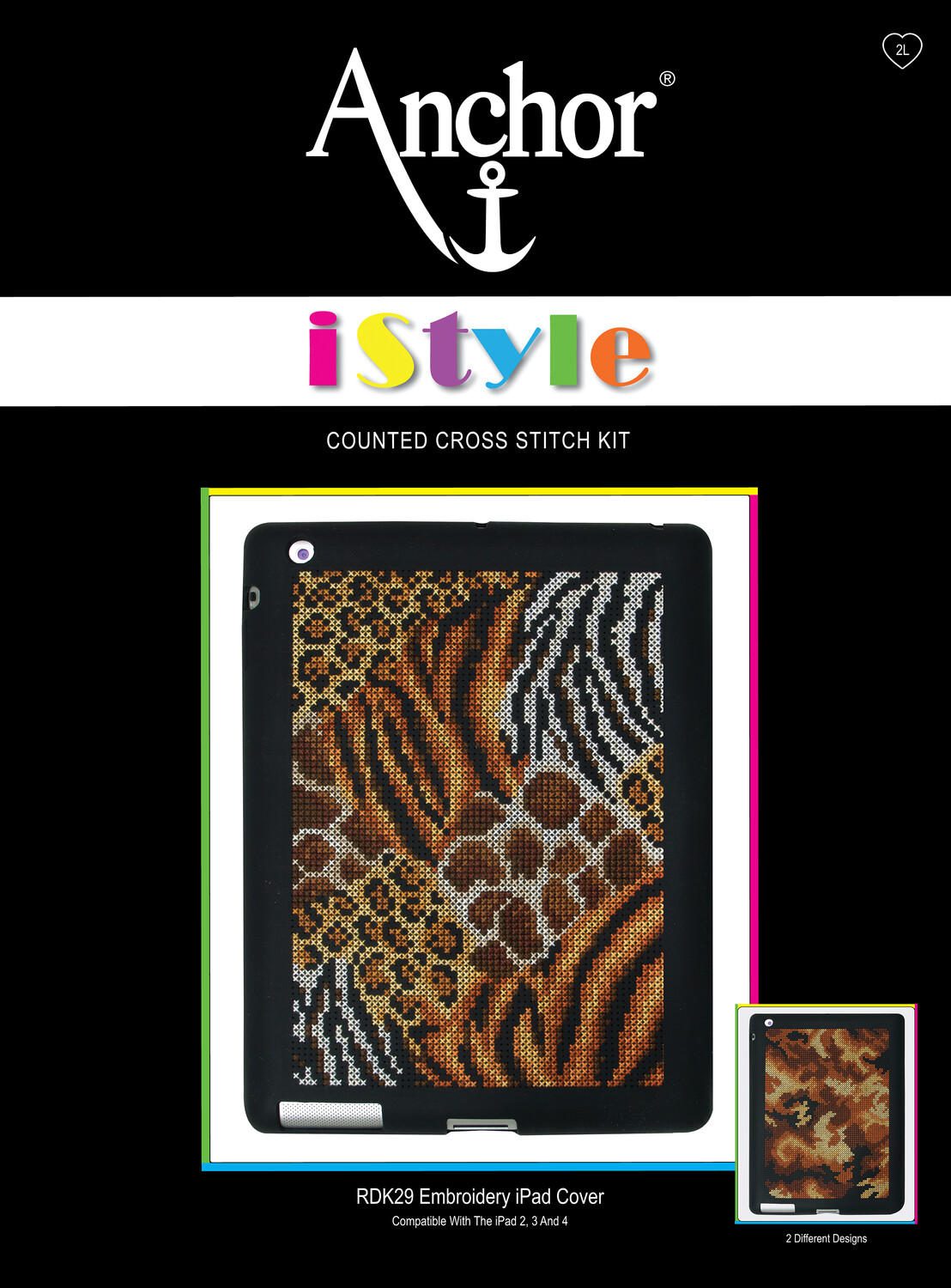 Anchor iStyle - Cross Stitch iPad Cover