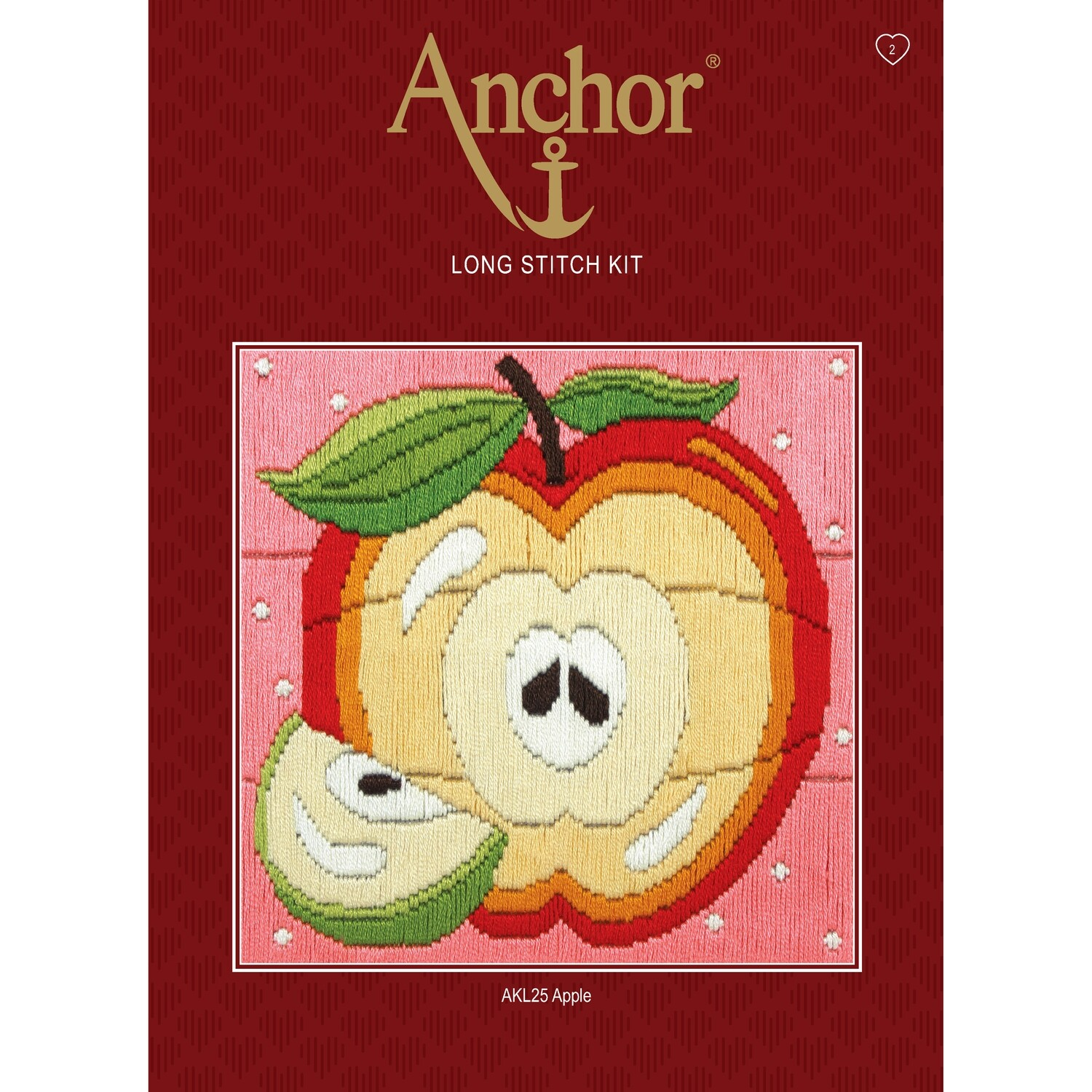 Anchor Starter Long Stitch Kit - Apple