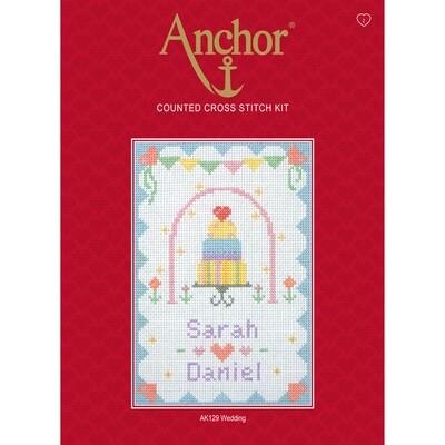 Anchor Starter Cross Stitch Kit - Wedding
