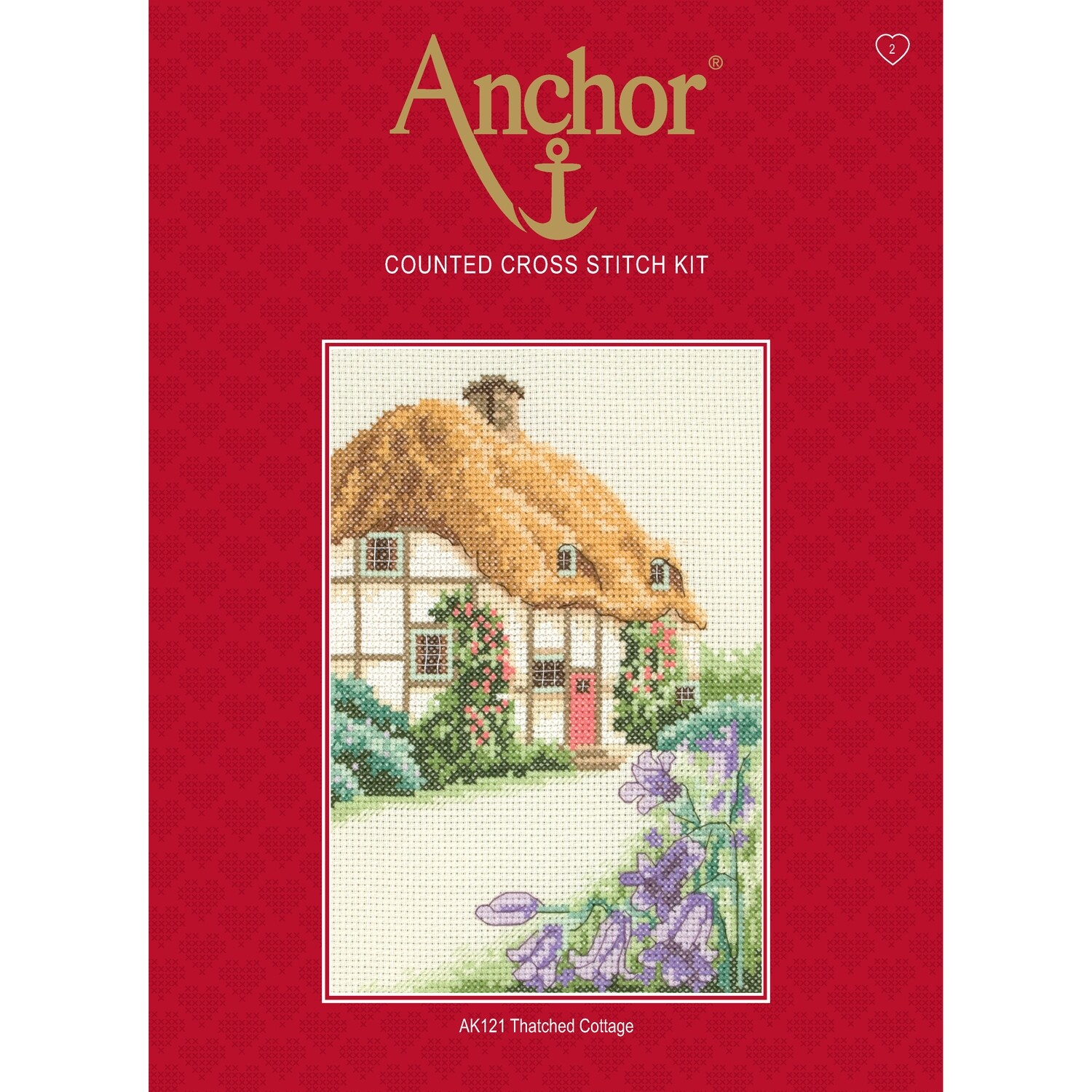 Anchor Starter Cross Stitch Kit - Thatched Cottage