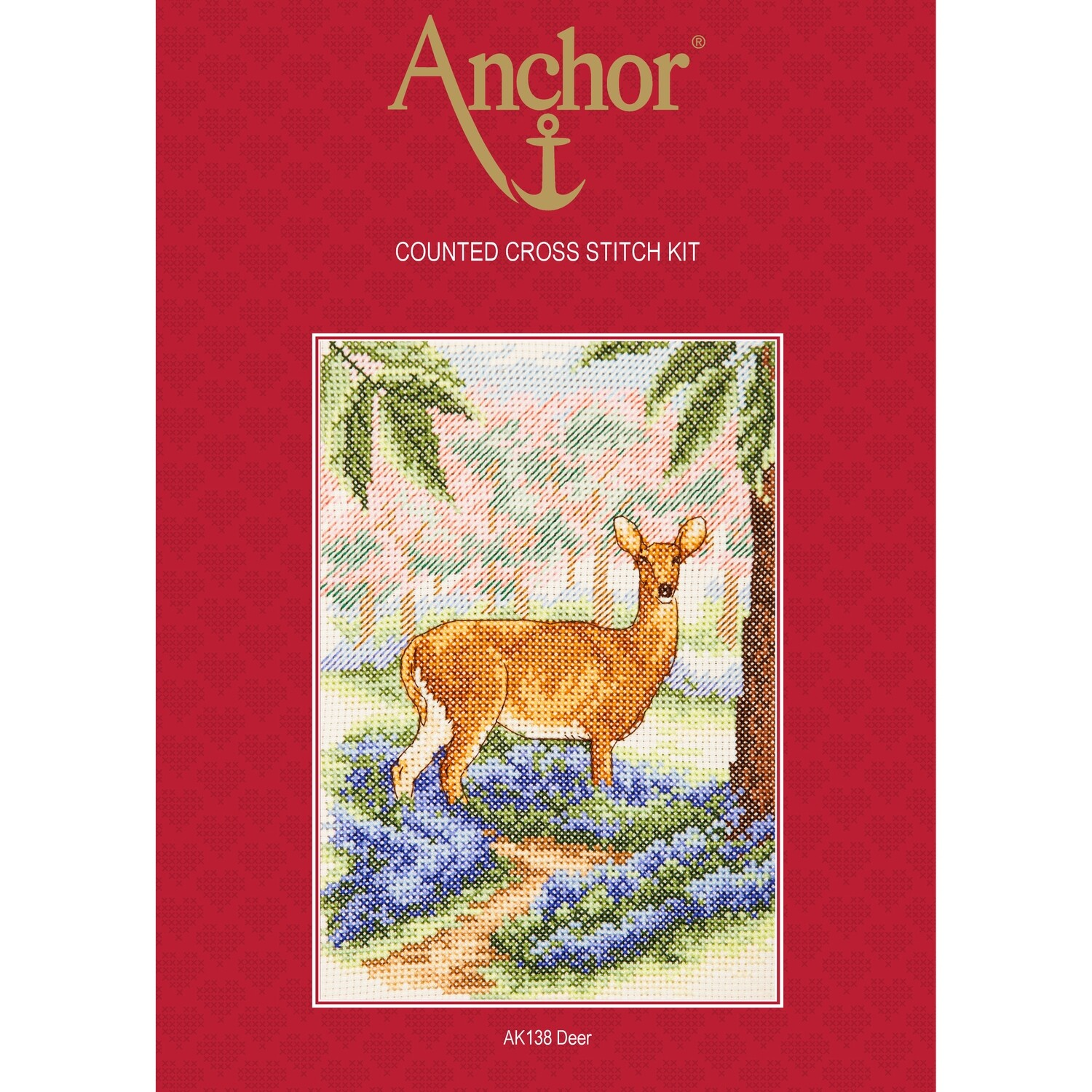 Anchor Essentials Cross Stitch Kit - Deer