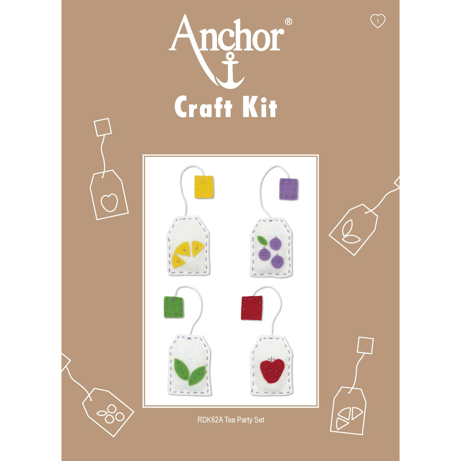 Anchor Craft Kit - Tea Party Set