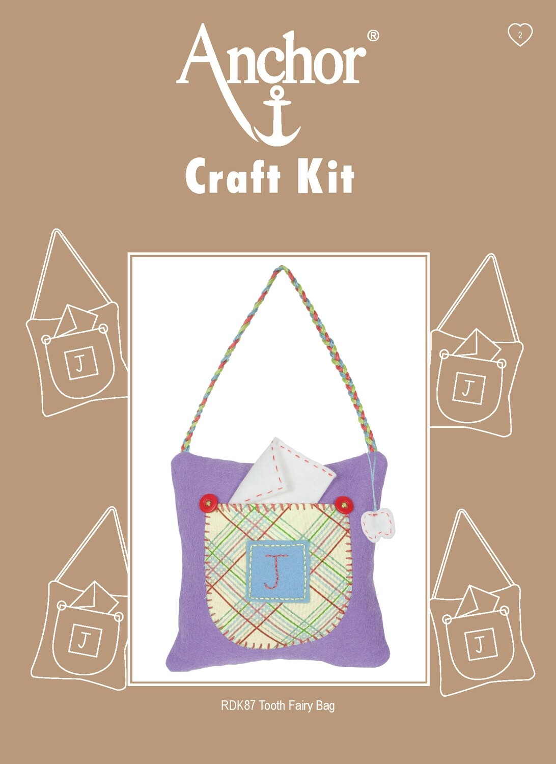Anchor Craft Kit - Tooth Fairy Bag